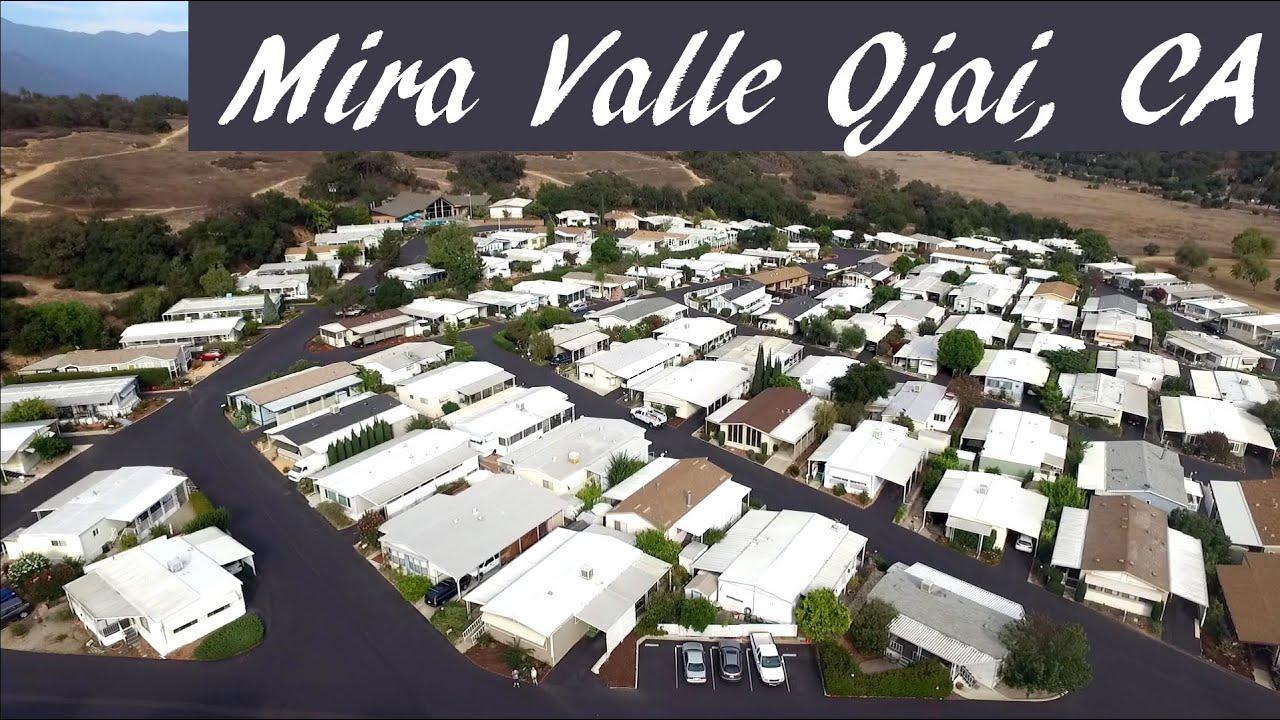 Ojais Beautiful Mira Valle Senior Mobile Home Park
