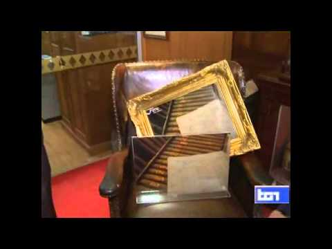 Italian TV RAI filming in James J Fox