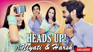 Niyati Fatnani amp; Harsh Rajput Play 39;Heads Up39;  EXCLUSIVE  Nazar  PiAnsh
