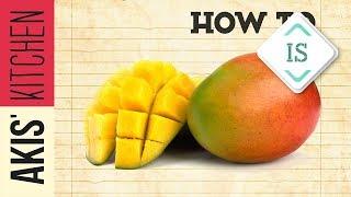 How to cut a mango in sign language | Akis Petretzikis