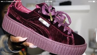 PUMA VELVET CREEPER | FENTY by Rihanna Review