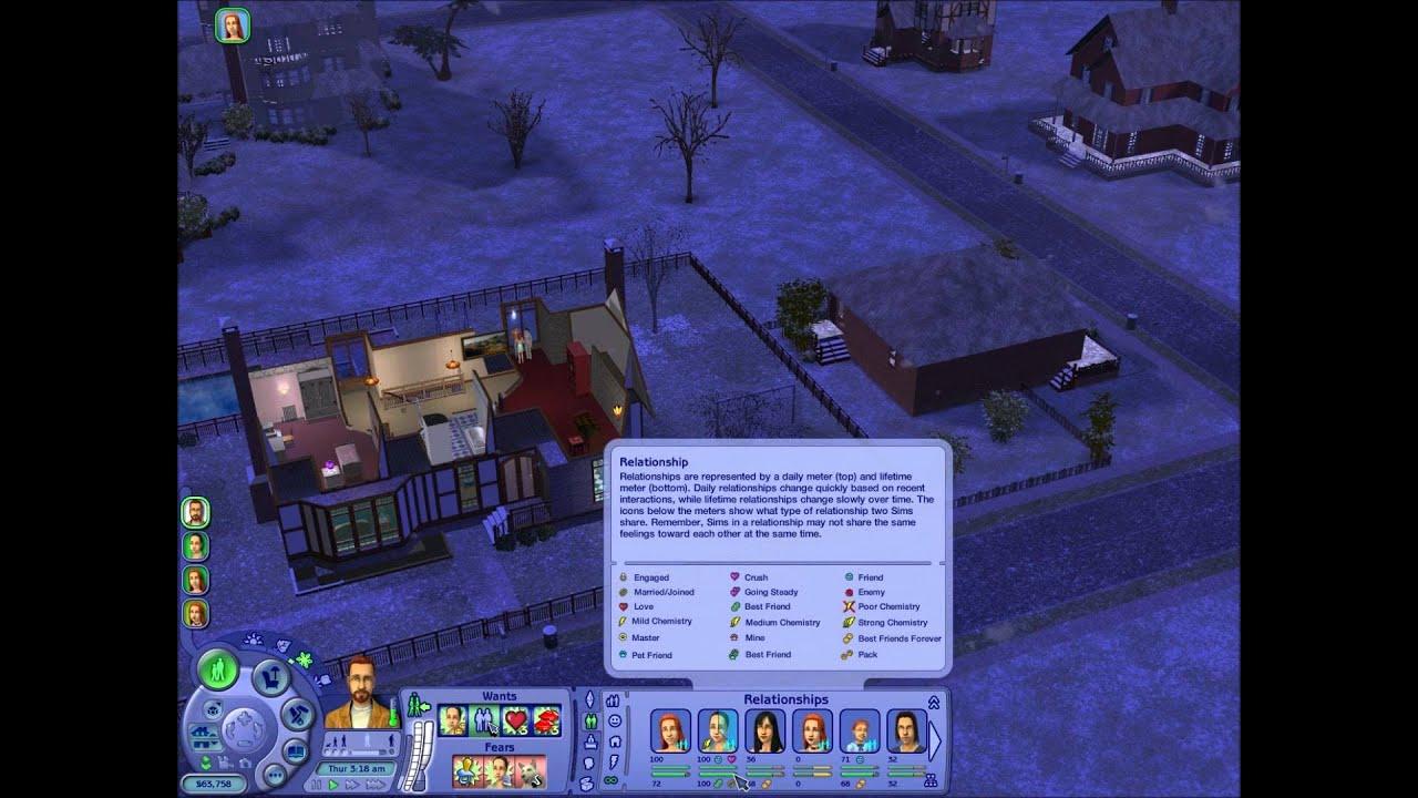 Sims 2 chemistry