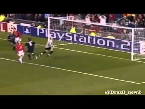 ON THIS DAY: In 2003, Ronaldo scored a hat-trick vs. Man United in UCL quarter finals
