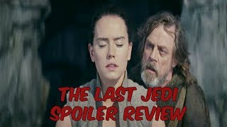 The Last Jedi Review (SPOILERS)