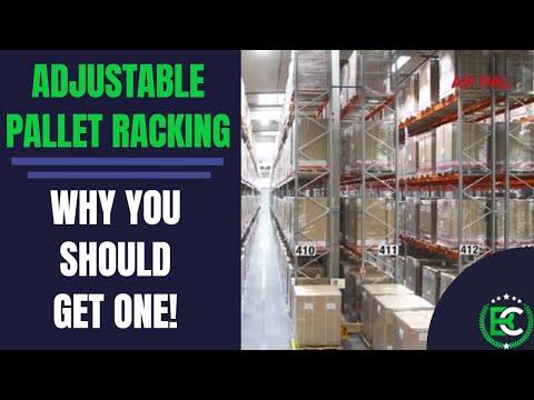 Adjustable Pallet Racking Explained | 🚚 Pallet Racking Suppliers 🚚 | APR Racking - Видео онлайн