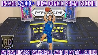 Download lagu *INSANE $7000+ LUKA DONCIC PRIZM ROOKIE CARD! MY NEW BIGGEST BASKETBALL CARD IN MY COLLECTION! +MAIL