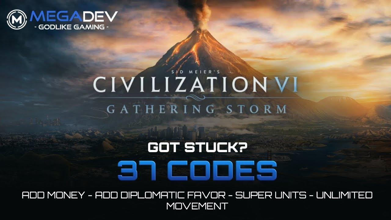 Sid Meier's Civilization 6 - Gathering Storm Trainer + Cheats