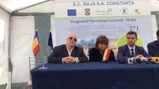 ctnews.ro | Felix Stroe prezinta statia de epurare Mihail Kogalniceanu