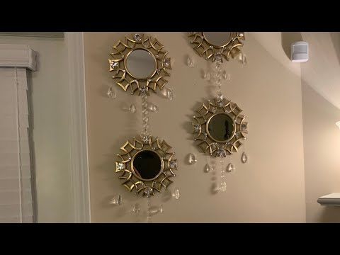 Dollar Tree DIY | Glam Wall Mirror