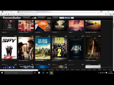 Paginas Para Descargar Películas en HD - Audio Latino [Torrent] - 2015 (SUSCRIBETE)