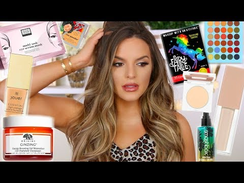 TALK THROUGH GET READY WITH ME! NEW PRODUCTS & SOME FAVORITES!   Casey Holmes