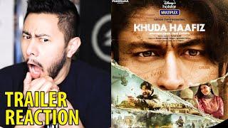 KHUDA HAAFIZ | Vidyut Jammwal | Shivaleeka Oberoi | Faruk Kabir | Trailer Reaction | Jaby Koay