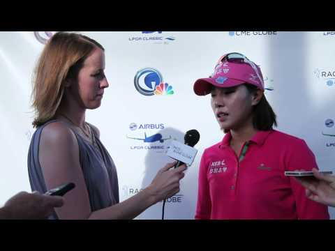 Hee Young Park 2nd Round Interview from the Airbus LPGA Classic