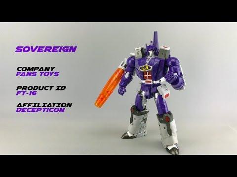 Transformers Fans Toys FT-16 Sovereign (Pre-production Sample) // P4L Reviews