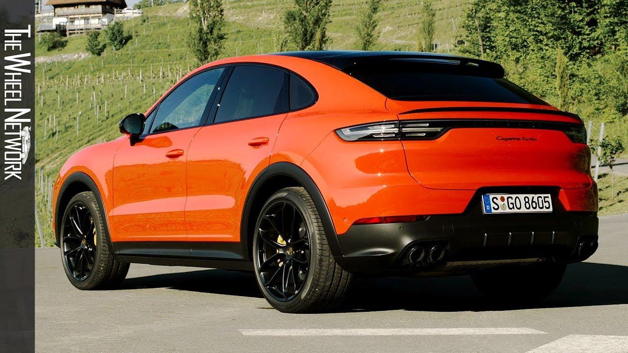 2020 Porsche Cayenne Turbo Coupe Lava Orange Exterior Interior Youtube