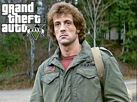 Grand Theft Auto 5 : Rambo First blood
