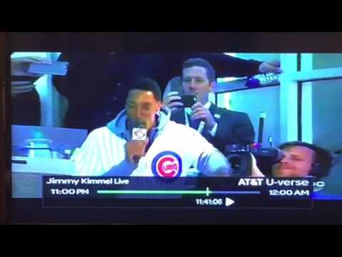 "Scottie Pippen Sings ""Take Me Out To The Ball Game"" Badly At Chicago Cubs Game #NLCS"