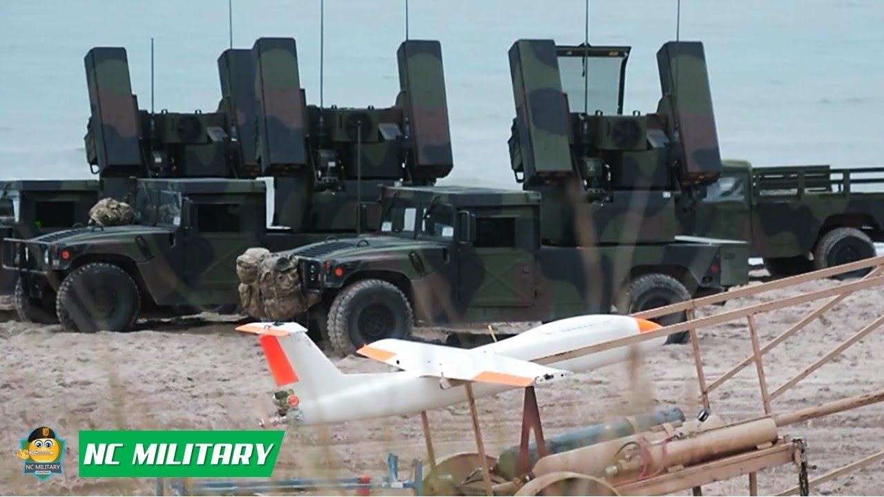 U.S. Army Fire Air Defence Missiles at Aerial Targets • Tobruq Arrows 2020