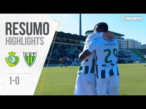 Highlights | Resumo: V. Setúbal 1-0 Tondela (Liga 17/18 #34)