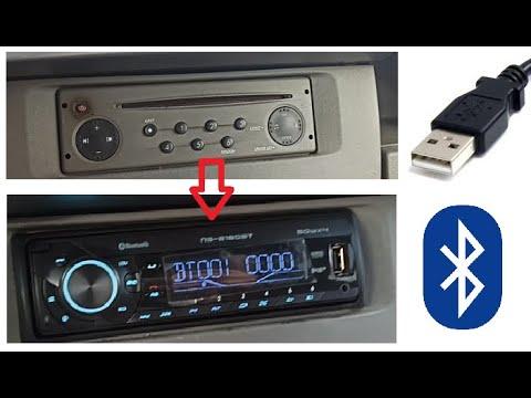 Comment installer un poste autoradio usb, bluetooth ? normes iso, din, fakra? (radio Norauto/Kangoo)