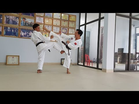 Kihon ippon kumite kyu 4 karate do shotokan