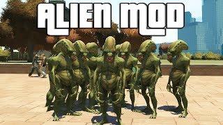 grand theft auto iv gta 5 alien invasion mod hd
