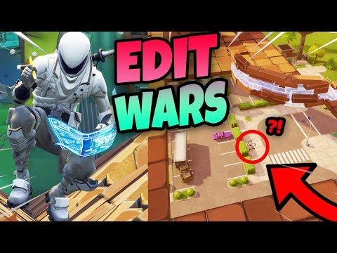NIEUWE EDIT WARS v2 MET DON & DUNCAN!! | Fortnite Minigames Playground