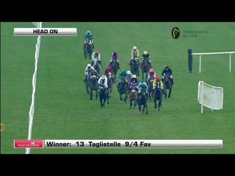 Racing from Punchestown,18th November,  2017 featuring the Frontline Security Grabel (Mares) Hurdle