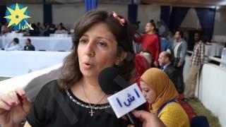 بالفيديو: دكتورة شيرين إدور محطة الزهراء تستقبل مهرجان الخيول العربية السابع عشر