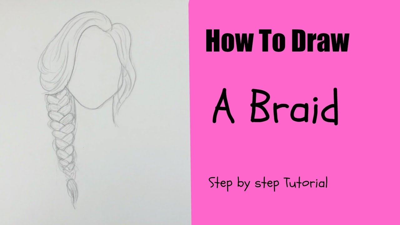 draw braid l easy tutorial