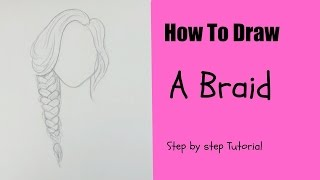 How To Draw A Braid L Easy Tutorial