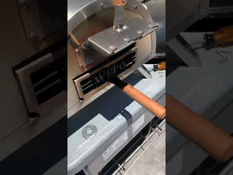 How to protect the wooden handles on your woodfired pizza oven.