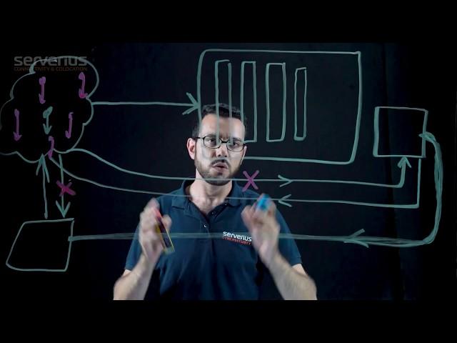 DDoS protection principles of Serverius