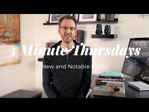 New and Notable Books - Three-Minute Thursdays #7