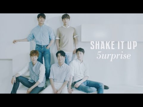 5urprise - SHAKE IT UP (Official Video JAPAN 2nd Single)