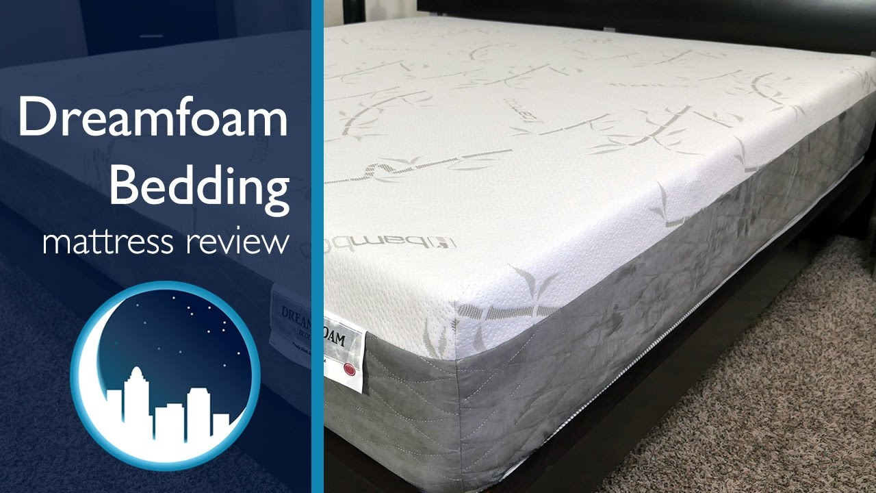 Dreamfoam Bedding Ultimate Dreams Mattress Review Youtube