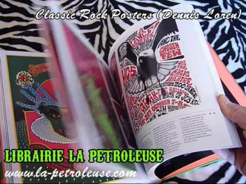 Livre / Book CLASSIC ROCK POSTERS (Mick Farren - Dennis Loren)