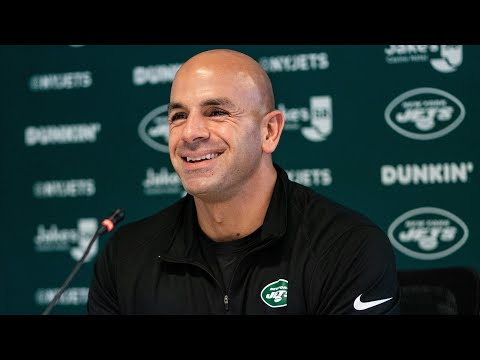 Robert Saleh Training Camp Report Day Press Conference (7/27) | New York Jets | NFL