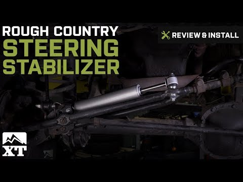 Jeep Wrangler (1987- 2006 YJ & TJ) Rough Country Steering Stabilizer Review & Install