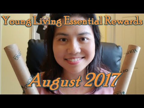 August 2017 Essential Rewards from Young Living