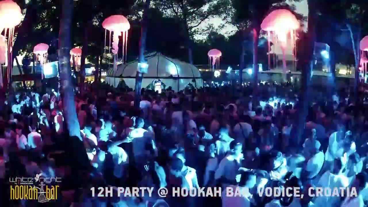 White Night 2013 Timelapse  Hookah Bar Vodice Croatia