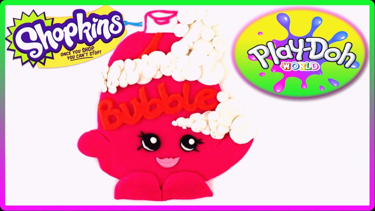 ♥ Play-Doh Shopkins Bubble Tubs Health & Beauty Shopkin Season 1 ...