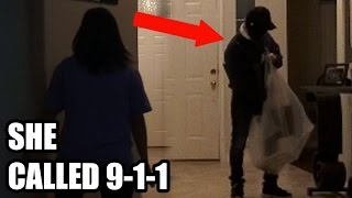 house robbery prank mom calls 911