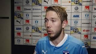 Anton Tinnerholm om segern mot Kalmar