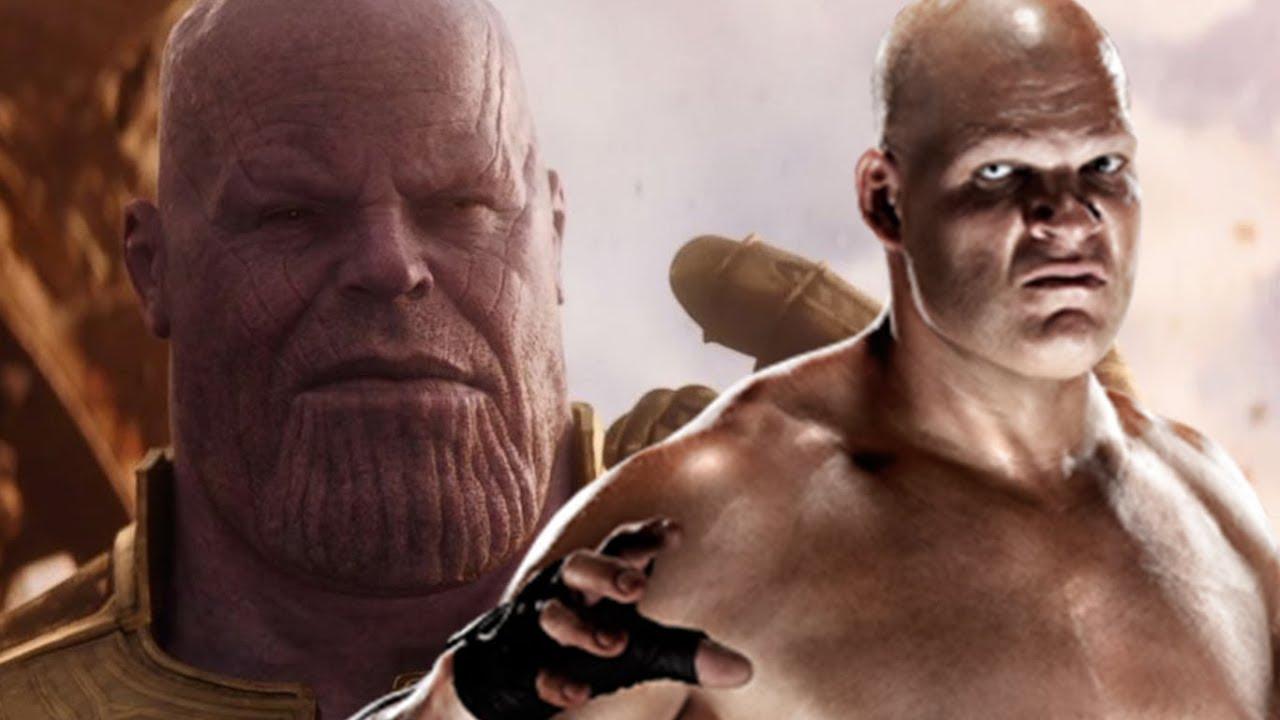 Thanos Kane Entrance The Big Purple Machine Thane