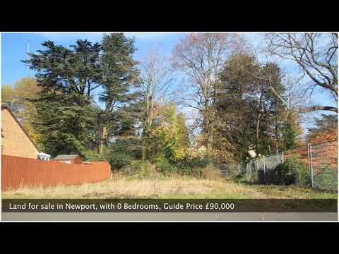 Land for sale in Newport,  Guide Price £90,000