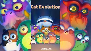 Space Cat Evolution: Kitty collecting in galaxy - Android HD GamePlay