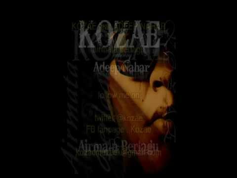 Kozae Feat Adeep Nahar - Airmata Berlagu - ( with lyrics )