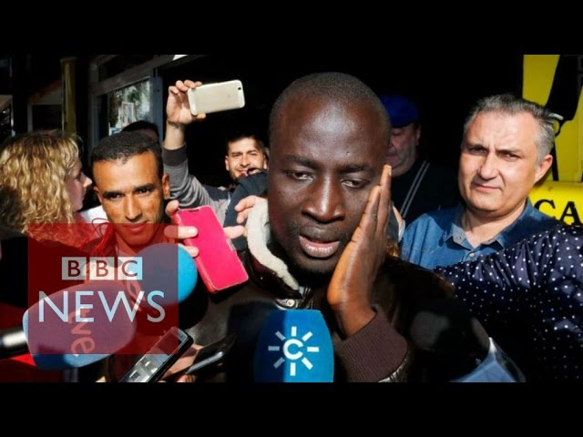 El Gordo: Senegal refugee wins €400,000 in Spain lottery - BBC News