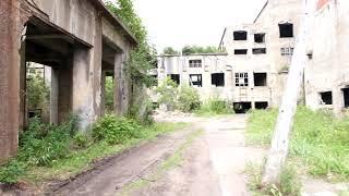 樺太の旧敷香(ポロナイスク)の日本統治時代の廃墟